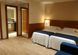 Twin room Premium at Hotel Sorolla Centro in Valencia, Spain
